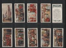 old cigarette cards London Ceremonial 1929 complete